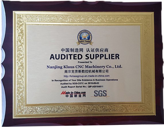 KRRASS SGS Certification