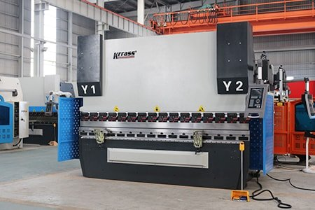 MB8 CNC Automatic Servo Press Brake – DA52s (3+1 Axis)